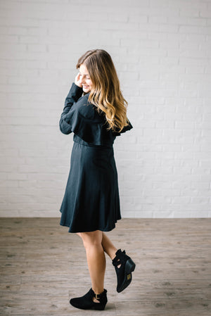 The Liz Knit Dress in Black