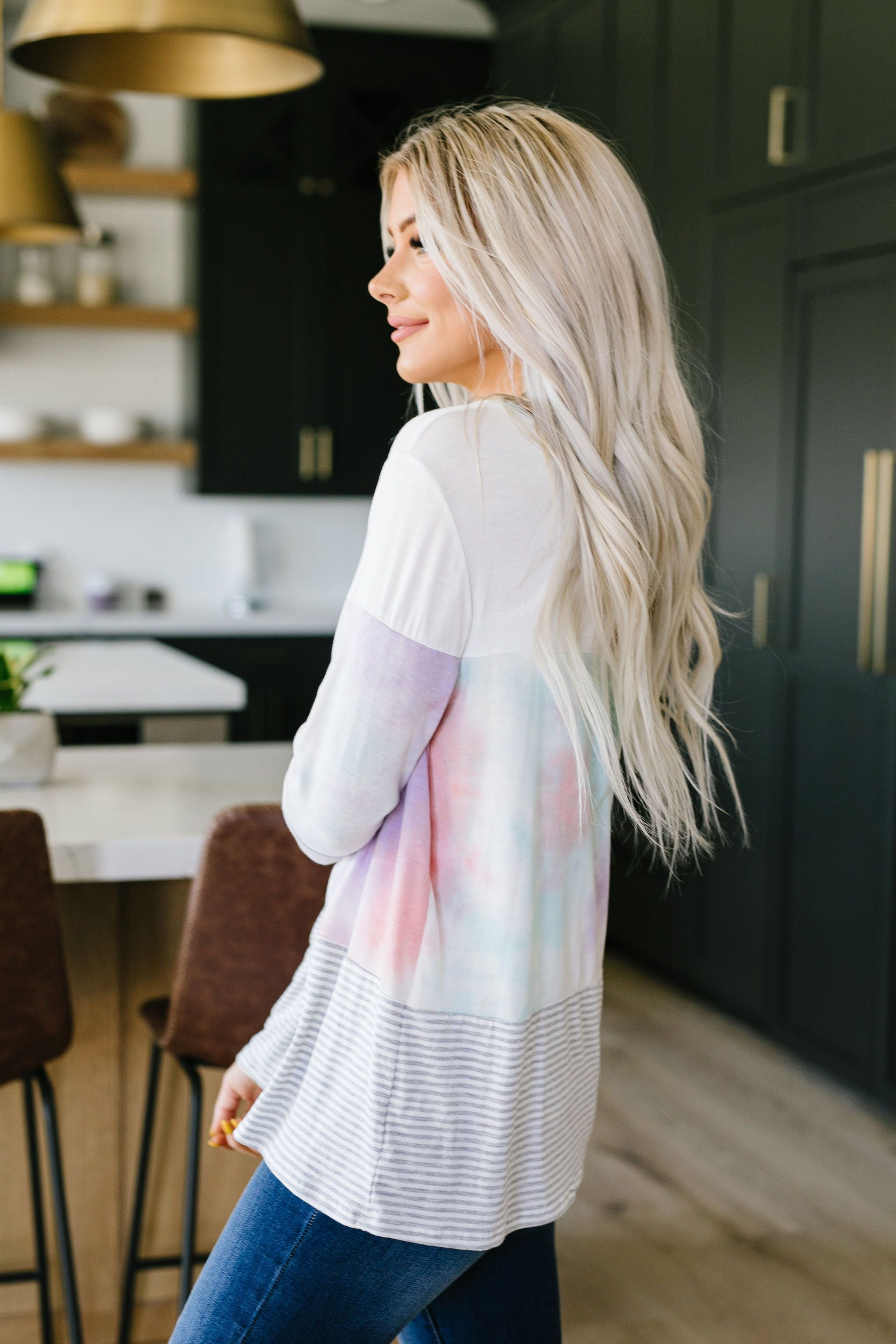 Try A Little Tie Dye Top