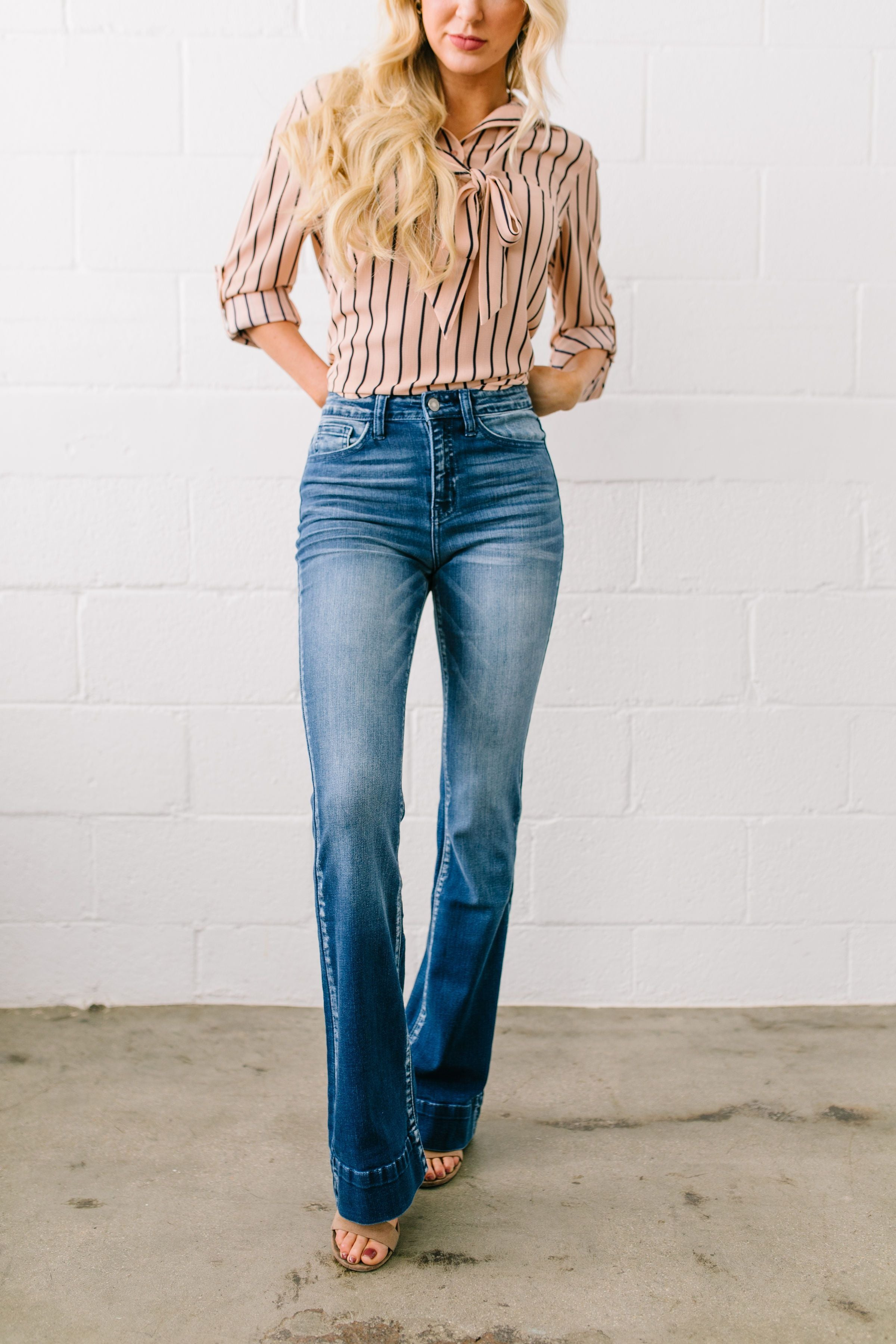 You've Got Flair Flared Jeans - ALL SALES FINAL