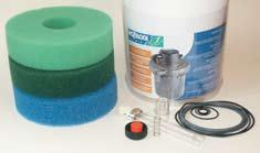 Hozelock Cyprio BioForce Filter Foam Replacements