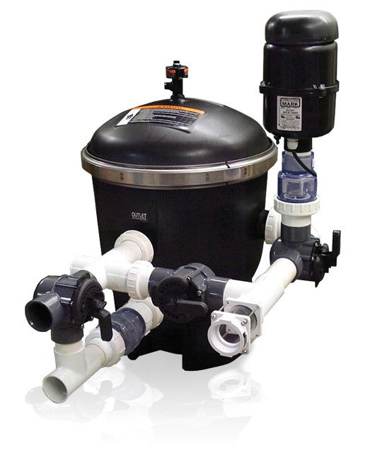 Vortek SS Delux Pump Pre-Filter and Strainer System