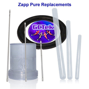 Zapp Replacement Bulbs and Sleeves for Zapp UV Units