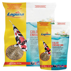 Laguna Color Enhancing Goldfish & Koi Floating Food