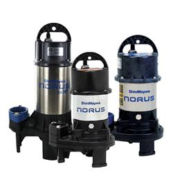 ShinMaywa Submersible Norus Stainless Steel Pond Pump