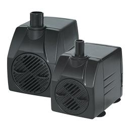 Pondmaster Submersible Statuary Pond Pump with Barb Fittings