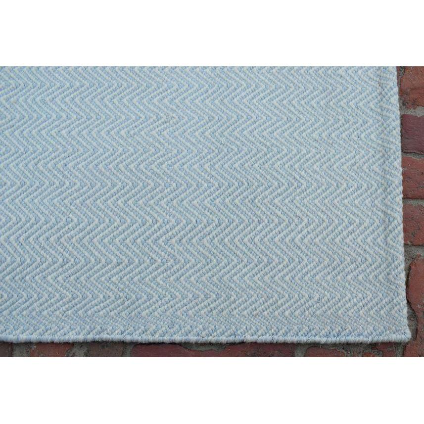 "Herringbone SAMPLE samples Organic Weave Shop 12"" x 12"" SAMPLE blue grey"