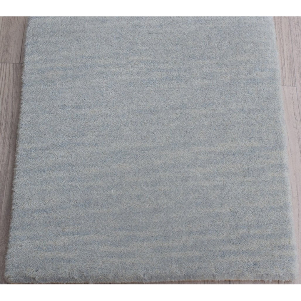 "Strie Grey Wool Handknotted SAMPLE samples Organic Weave Shop 12""x12"" Grey"