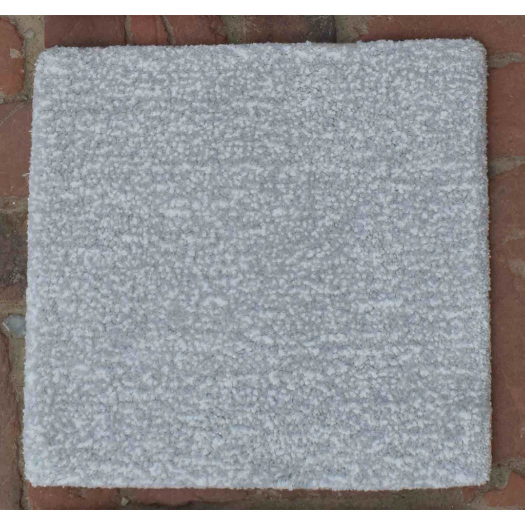 Signature Cotton Solid Strie Grey 5x8 handtufted cotton Organic Weave Shop
