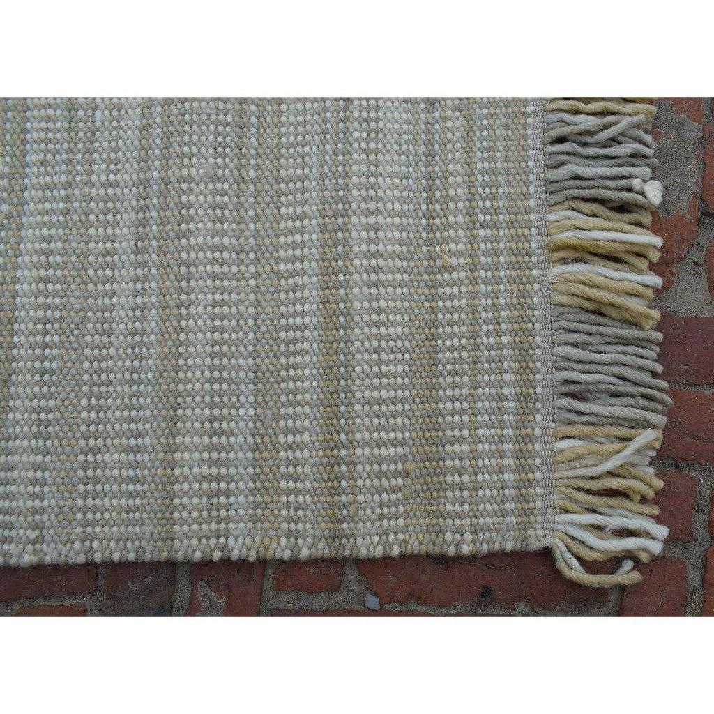"Columbia Wool Flatweave SAMPLE samples Organic Weave Shop 12"" x 12"" SAMPLE Oatmeal Multi"