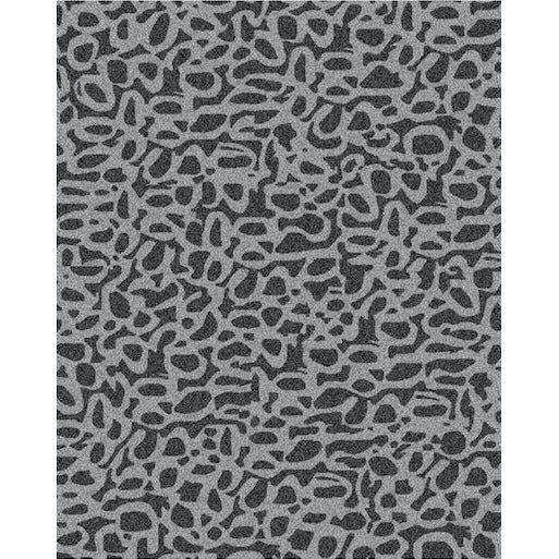 Pebbles Grey/Black handtufted wool Organic Weave Shop 8'x10'