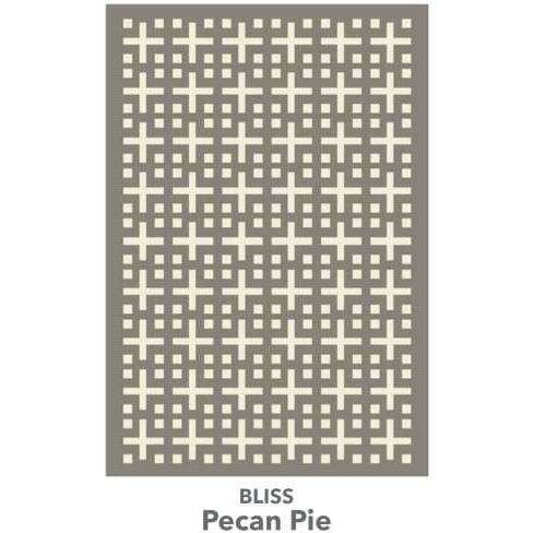 Bliss - More Colors Available handtufted cotton Organic Weave Shop 2'9'' x 10' Runner Pecan Pie