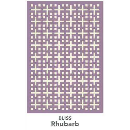 Bliss handtufted wool Organic Weave Shop 2'9'' x 10' Runner Rhubarb
