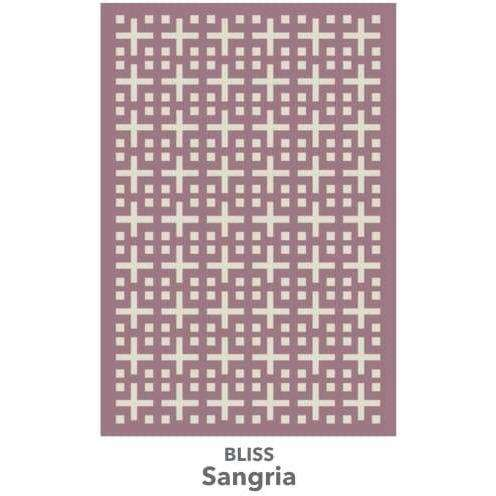 Bliss - More Colors Available handtufted cotton Organic Weave Shop 2'9'' x 10' Runner Sangria