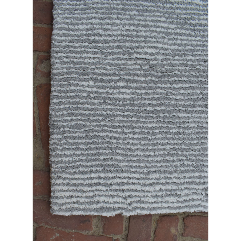 Seersucker Shag Grey SAMPLE samples Organic Weave Shop