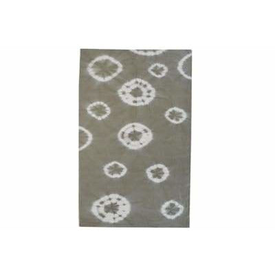 Wool Flatweave Taupe 56x81 - In Stock Rugs