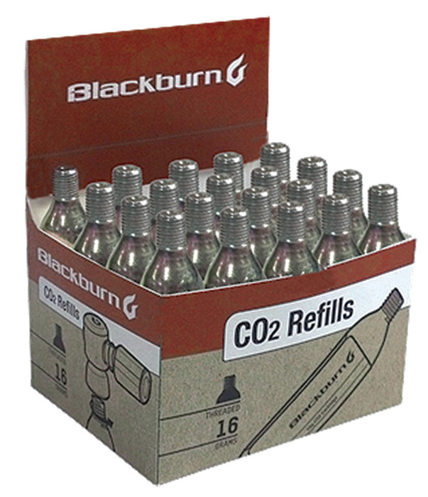 Threaded 16g CO2 cartridge box of 20