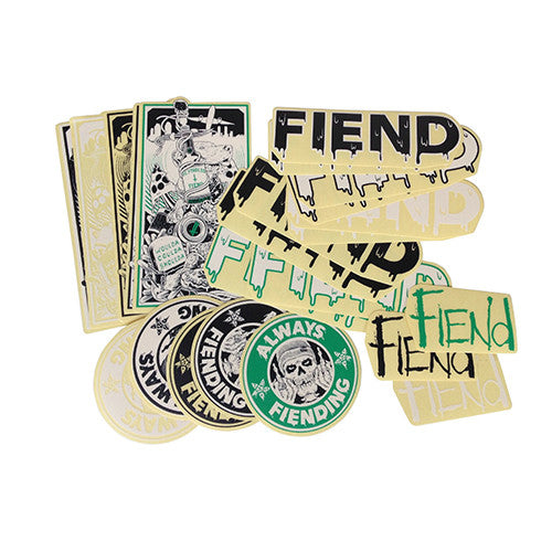 Fiend|REYNOLDS V2 STICKER PACK|cycle LM