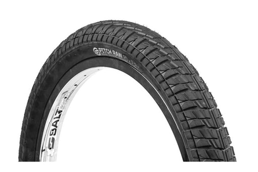 SALT PLUS PITCH RAW TIRE BLK 2.25""