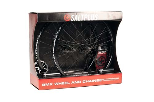 SALT PLUS SUMMIT WHEEL KIT (PAIR) NOIR