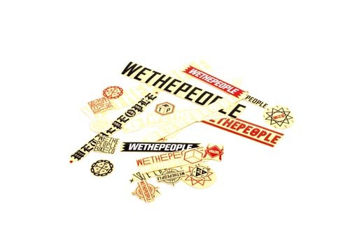 We The People|Brand Sticker Pack (15)|cycle LM