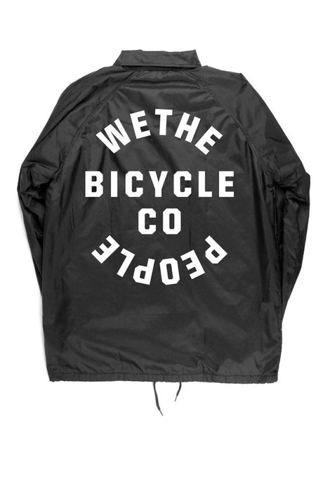 WTP COACH JACKET BLACK MEDIUM