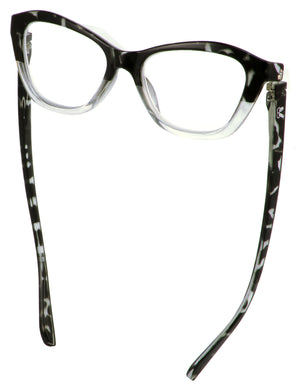 The Abby in grey tortoise/crystal - Bunnyeyez.com