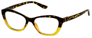 The Abby in blond tortoise/amber crystal - Bunnyeyez.com