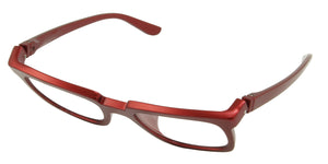Bunny Eyez Bunny Readers - Glossy Red Hot Fire - Tilted