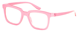 Bunny Eyez Bunny Readers - Glossy Petal Pink - Up position