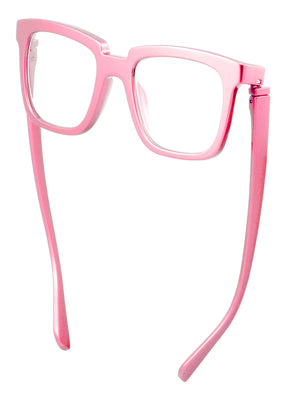Bunny Eyez Bunny Readers - Glossy Petal Pink - Down position