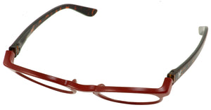 Bunny Eyez Guyz - Charles in Dark Red Crystal/Tortoise