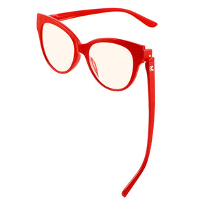Bunny Eyez Gracie Blue Screen Lens Reader Red