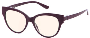 Bunny Eyez Gracie Blue Screen Lens Reader Purple