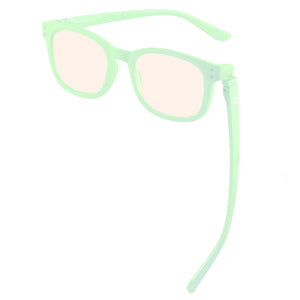 Kaley Blue Screen Lens Reader in Mint Green