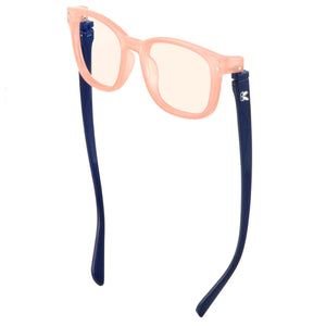 Kaley Blue Screen Lens Reader in Pink/Navy