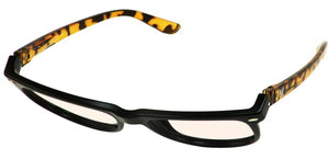 Bunny Eyez Guyz Keith Blue Light Readers Black/Faux Tortoise