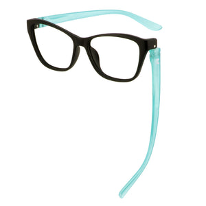 Mabel Blue Screen Lens Readers Bunny Eyez www.bunnyeyez.com
