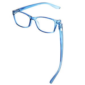 Bunny Eyez Minnie Readers in Blue