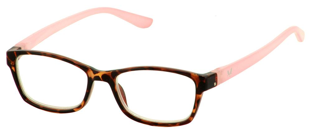 Bunny Eyez Minnie Readers in Demi/Pink