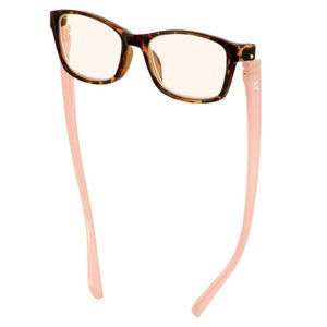 Bunny Eyez Minnie Blue Screen Readers in Demi/Pink