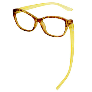 Sabina Reader Faux Tortoise/Honey | Bunny Eyez