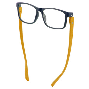 Bunny Eyez Jacob Reader in Matte Navy/Yello