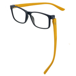 Bunny Eyez Jacob Reader in Matte Navy/Yellow