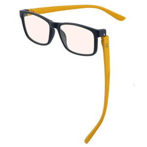 Bunny Eyez Jacob Blue Screen Readers Matte Navy/Yellow