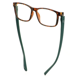 Bunny Eyez Jacob Reader in Tortoise Look/Dark Aqua