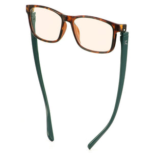 Bunny Eyez Jacob Blue Screen Readers Tortoise Look/Dark Aqua