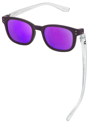 Bunny Eyez Sunnyz Sunglasses - Anna in Aubergine Purple