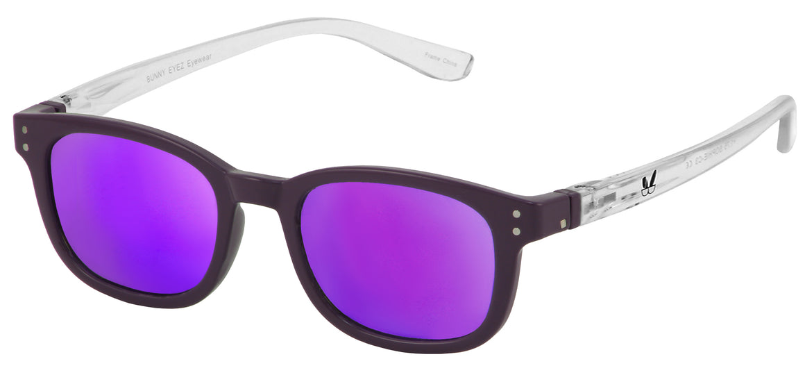 Bunny Eyez Sunnyz Sunglasses -  Anna in Super Black with Tortoise Temples