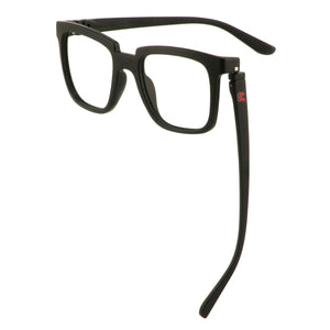 Bunny Rayz Bunny Fashion Glasses in Matte Black (No Power)
