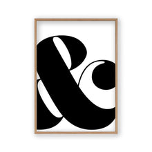 Load image into Gallery viewer, Ampersand And Print - Blim & Blum